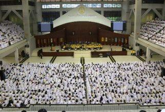 Kegiatan Awal Mahasiswa Baru Universitas Indonesia Sebelum Pandemi